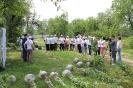 Закладка Аллеи Памяти, 16 мая 2015 г., г. Алматы