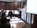 Cascade trainings for doctors in Bishkek