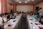 "Working meeting on the project ""Access to rapid HIV testing on the basis of NGOs in Kazakhstan"""