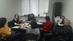 "Meeting of the working group of the project ""Access to rapid HIV testing on the basis of NGOs in Kazakhstan"""