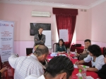 Training on the rights of PLHIV in Dushanbe