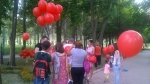 """HIV: There is Medicines but no time. Budget our right for life!"" action in Bishkek"